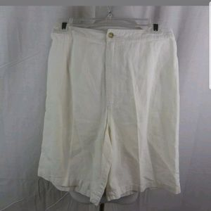 Chico's linen shorts, size 1